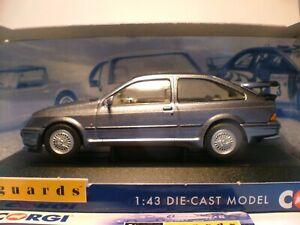 Excelente-Nuevo-Vanguards-1-43-Piedra-Lunar-1987-Ford-Sierra-Cosworth-RS-500-3-puertas-nla