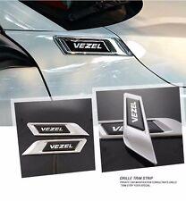 Car Side Vents Modified Shark Gills Emblem Sticker For Honda Vezel HR-V