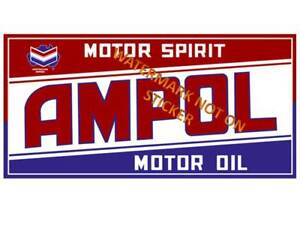 VINTAGE-AMPOL-FUEL-GASOLINE-STICKER-DECAL-LARGE-240mM-WIDE-HOT-ROD