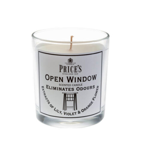 Price/'s Odour Eliminating Glass Jar Candles Range With  Odourfoyl technology
