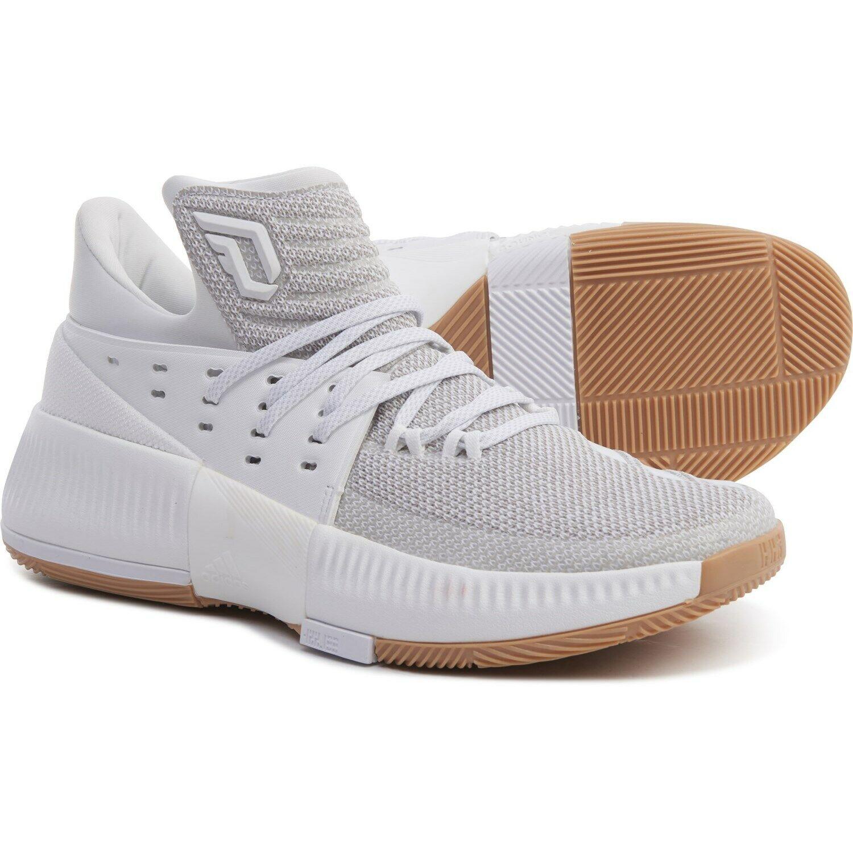 adidas dame 4 white gum