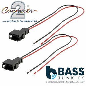 Bmw 3 series e46 1998 2006 front door car speaker plug lead cable image is loading bmw 3 series e46 1998 2006 front door publicscrutiny Images