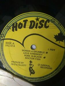I-Roy-I-Roy-039-s-Doctor-Fish-Vinyl-LP-1981-REGGAE-ROOTS-DANCEHALL