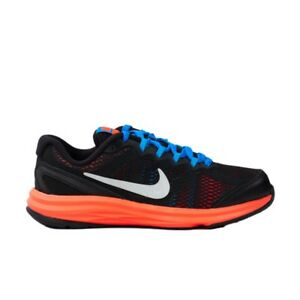 48abbefcffbf NIKE Kids Fusion Run 3 PS Shoes NIB Boys Sz 11c EUR28 Black Silver ...