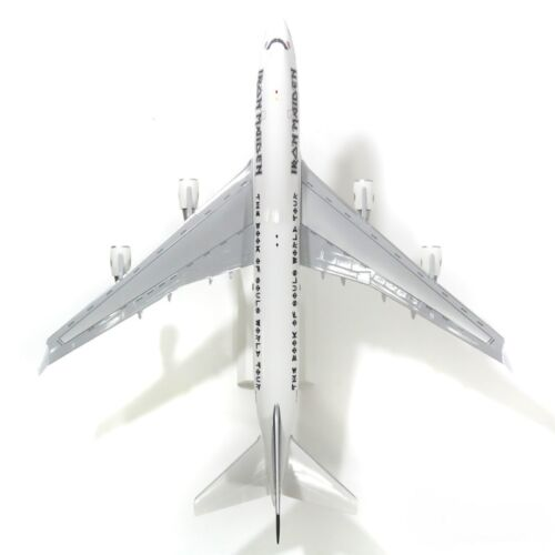 Skymarks SKR899 Iron Maiden Boeing 747 Ed Force One Desk Model 1//200 AV Airplane
