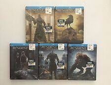 Resident Evil Blu Ray 1 - 5 Limited Edition Steelbook Project Popart NEW