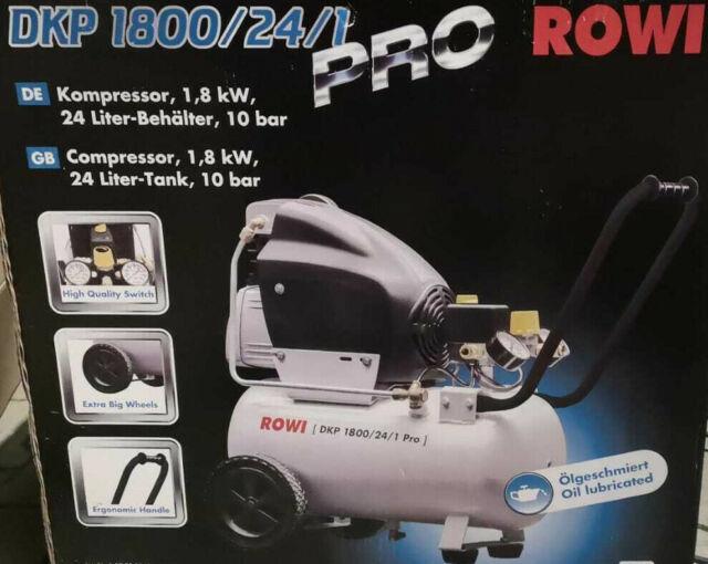 Rowi compresseur 1,8 KW DKP 1800//24//1 pro