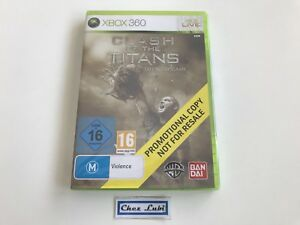 Clash Of The Titans - Promo - Microsoft Xbox 360 - PAL EUR - Neuf Sous Blister