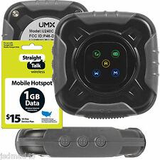 Straight Talk Mobile Hotspot With $15 1GB Data Card No Contract Prepaid Wifi