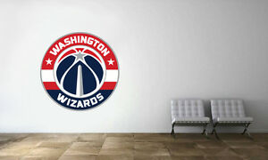 Washington City Wizard Basketball Sport Symbol Team Logo USA Label Vinyl Die-Cut Emblem Sticker Decals Set of 4 Pieces 5 Longer Side