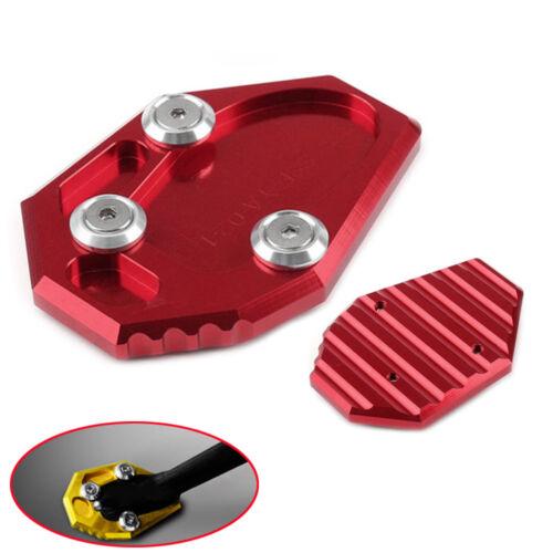 Kickstand Side Stand Pad Plate Enlarger Yamaha MT-07 FZ07 FZ6-S2 FZ6R XJ6//ABS