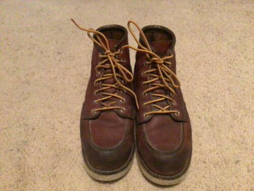 men red wing boot 6.5 E pre own made in usa