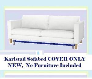 Ikea Karlstad Sofabed Blekinge White