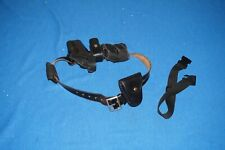 Leather Duty Belt Police Security Jay Pee Gould Goodrich Holster Pouch Handcuffs