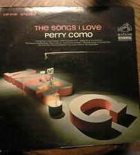 PERRY COMO - THE SONGS I LOVE - LP - VINYL