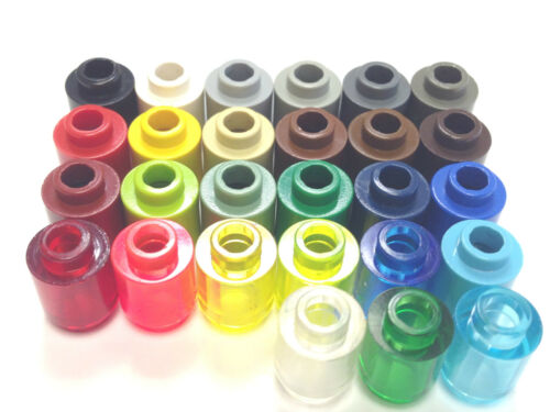 Select Colour Pack Size LEGO 3062 1X1 Round Brick FREE P/&P!