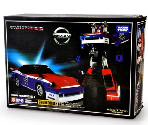 Transformers Masterpiece MP19 Autobots Smokescreen Figure 14CM Toy New in Box