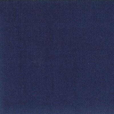 Moda Fabric Bella Solids Nautical Blue