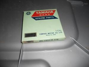 NOS Yamaha 1974 1975 MX175 Piston Rings STD 455-11610-00