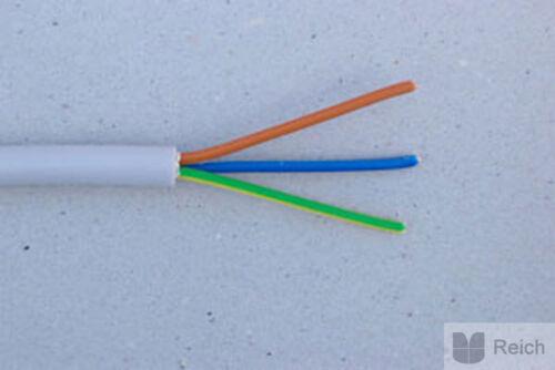0,48 €//m,100m Kabel NYM  2 x 50m Ring Elektrokabel NYM-J 3x1,5 qmm Neu /& OVP!!!