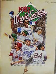 1987-World-Series-Program