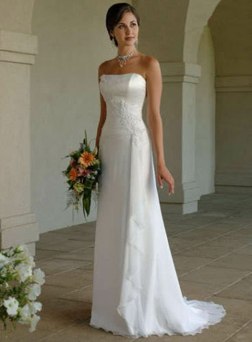 New Chiffon Evening Formal Party Ball Gown Prom Wedding Bridesmaid Dress 6 -16