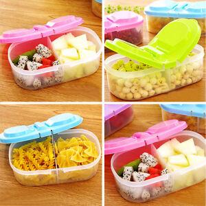 1x plastique bo tes stockage rangement couvercle alimentaire container cuisine ebay - Boite plastique cuisine ...