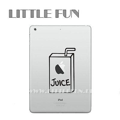 Tablet & Ebook-zubehör Computer, Tablets & Netzwerk Offen Ipad Mini Aufkleber Sticker Skin Decal Schutz Für Ipad Mini 1 2 3 Juice Box Ib02 Weder Zu Hart Noch Zu Weich