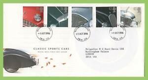 Conjunto-de-Graham-Brown-1996-autos-clasicos-el-Palacio-de-Buckingham-CD-Royal-Mail-primer-dia