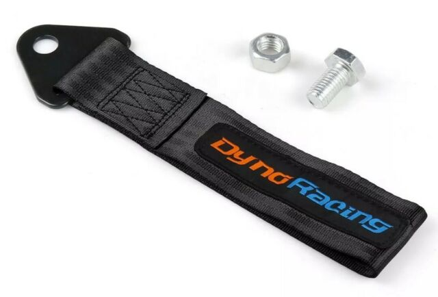 PURPLE Universal OMP Racing Tow Strap Hook Rally Race Drift Car Track