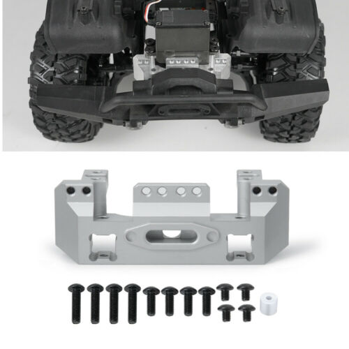 CNC Aluminum Alloy Front Bumper Mount Upgrade for 1//10 RC Traxxas TRX-4 Crawler
