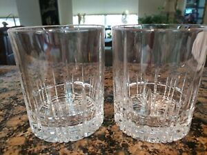 Spiegelau-Crystal-Rock-Glass-Double-Old-Fashioned-Glass-12-5-oz-unused-SET-OF-2