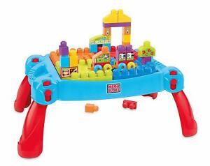 Mega Bloks Construire et apprendre le jeu de jeu de jouet de bloc de construction de pièce de 30 pièces 1-5 ans