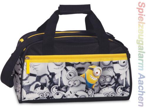 MINIONS Cabine Trolley Kinder Sporttasche Kinderrucksack Kindertasche 3D Effekt