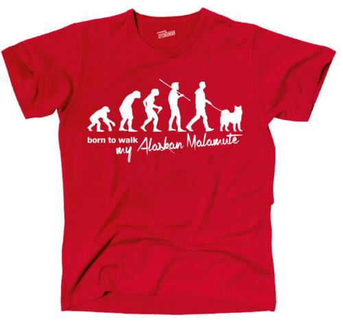 Tevo t-shirt chiens Evolution bostonien huait walk siviwonder