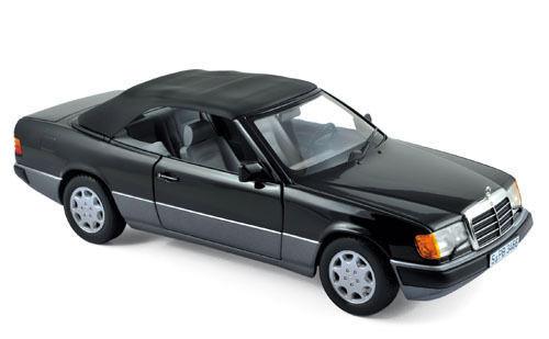 1 18 Novedad Norev - Mercedes 300 Ce Convertible 1990 - Negro