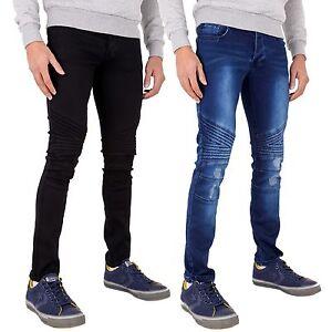 84e5585bb52a6 La imagen se está cargando Nuevas-zapatillas-Super-Ripped-Jeans-Elastizados- Ajustados-envejecido-