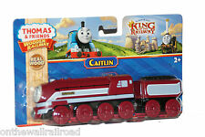 CAITLIN Thomas Tank Friends Wooden Railway King Castle NEW IN BOX Caitlyn