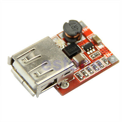 DC DC Converter Step Up Boost Module 3V To 5V 1A USB Charger F MP3 MP4 Phone New