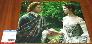 Caitriona-Balfe-amp-Sam-Heughan-Signed-11x14-Outlander-Claire-Randall-PSA-DNA