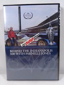 Behind-The-Indianapolis-500-With-Parnelli-Jones-DVD-Collector-039-s-Indy-500