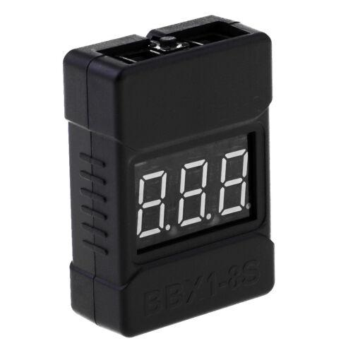 LiPo Battery Checker RC 1 8S Batterietester zur Überwachung des