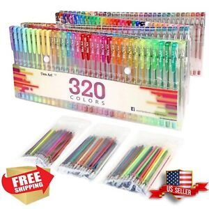 320-Colors-Gel-Pens-Pen-Set-for-Adult-Coloring-Books-Writing-Drawing-Painting