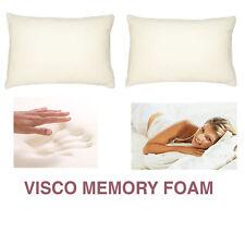 pack of 1 Visco Elastic Memory Foam Pillow **Including 1 Free Pillow Protector**