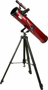 Carson Red Planet 35-78x76mm Newtonian Reflector Telescope RP-100