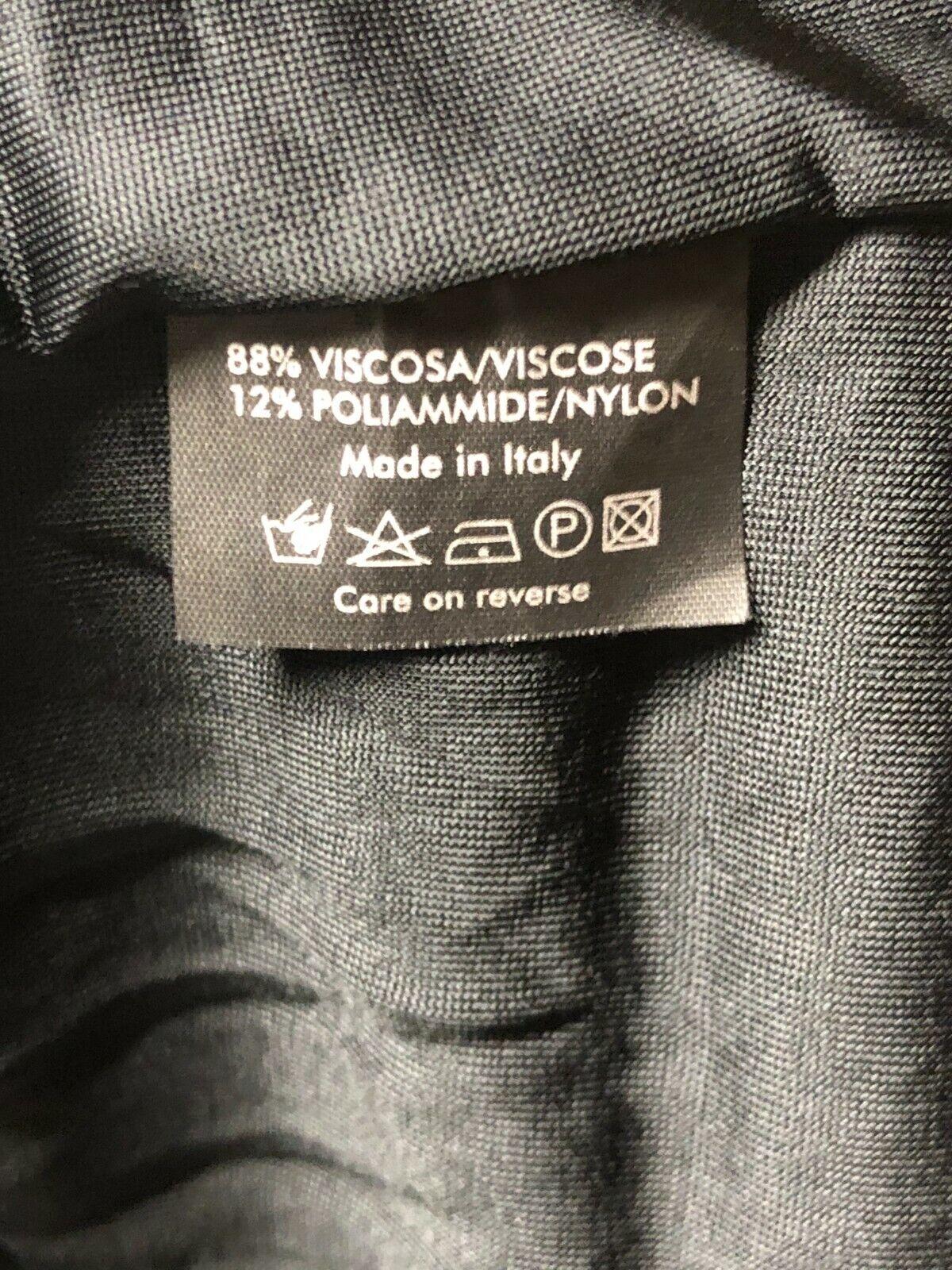 Rare Vtg Gucci Black Cut Out Dress S - image 10