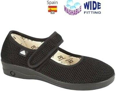 LADIES CANVAS E TO EEE WIDE FIT DUEL