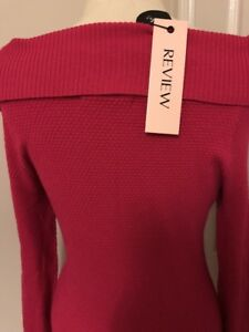 REVIEW-JUMPER-RASPBERRY-SIZE-10-BNWT