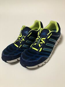 Details about Mens Adidas Climacool Running Shoes Blue/Green/white size 12 used