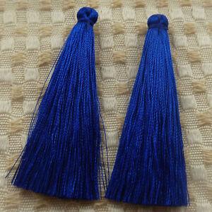 free ship 40pcs red silk yarn tassels charms 67mm ZH1326